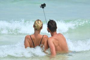 Jandia Fuerteventura Selfie Stick